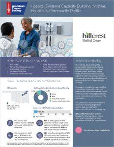 Cover Hillcrest Medical Profile