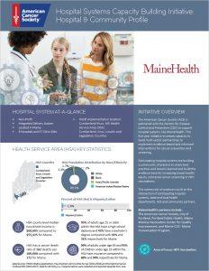 Cover Maine Health Profile
